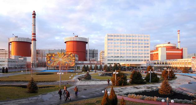 «ВОЗМОЖНА ЛИ АТОМНАЯ ЭНЕРГЕТИКА БЕЗ СВОЕГО  ХРАНИЛИЩА?» Подпись под фото: Южно-Украинская АЭС