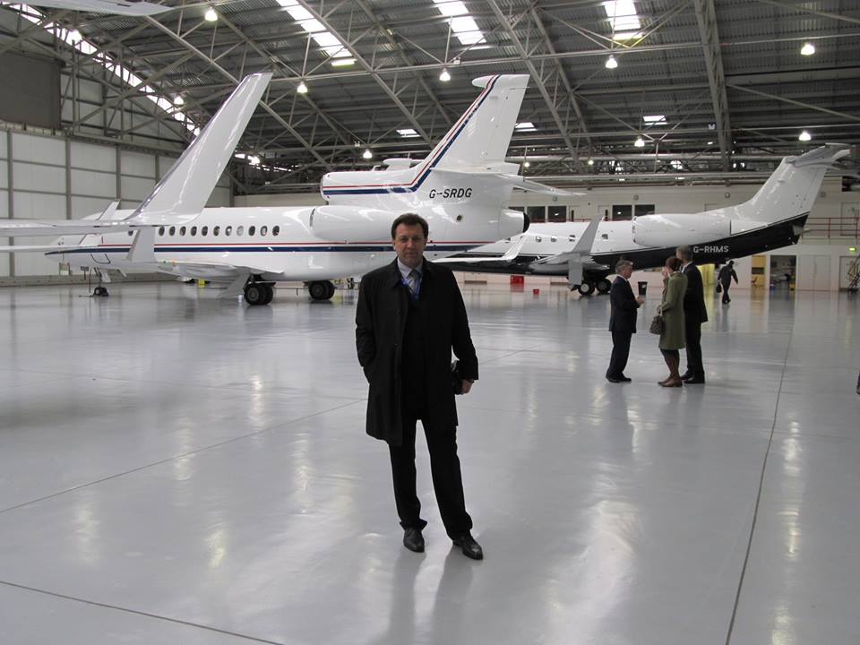 Олександр Ланецький, директор литовської консалтингової компанії Friendly Avia Support