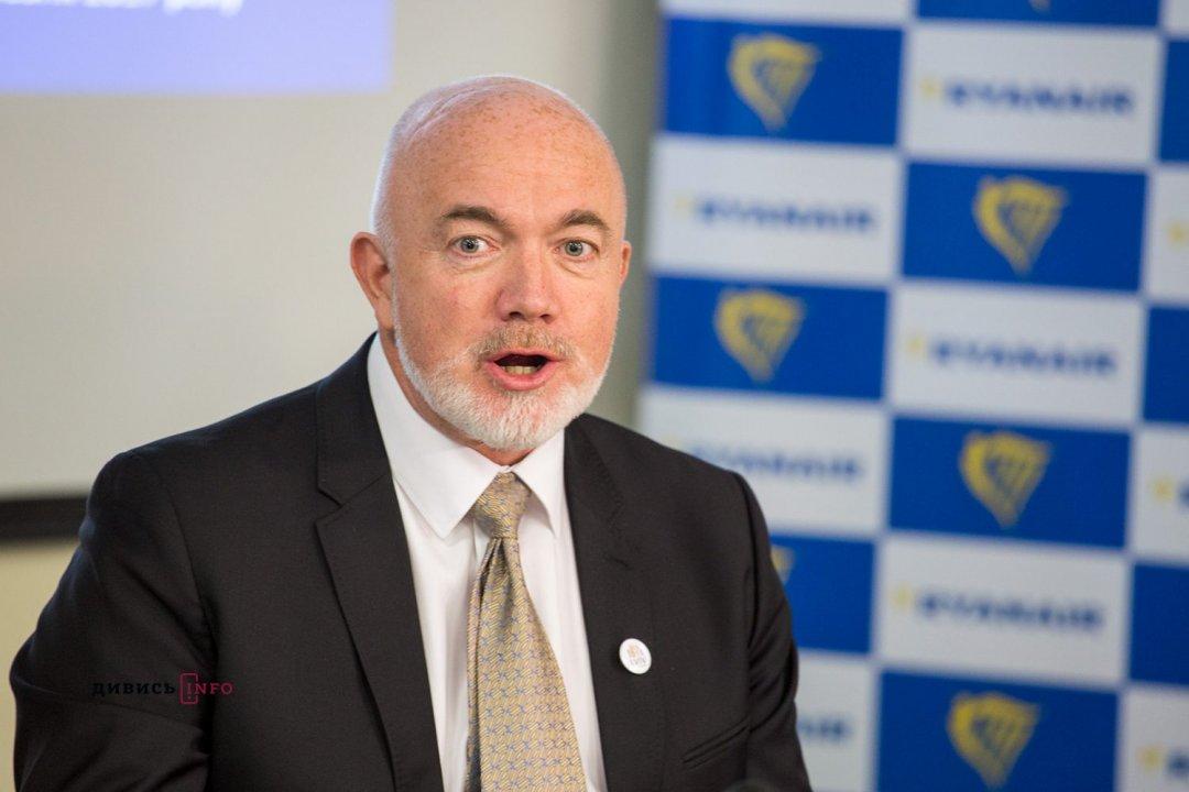 Девід О'Брайан, комерційний директор компанії «Raynair»