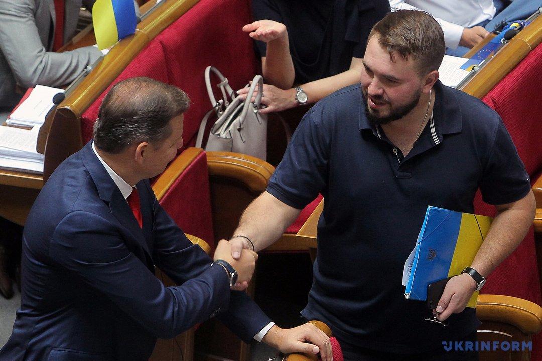 Олег Ляшко, Андрей Лозовой