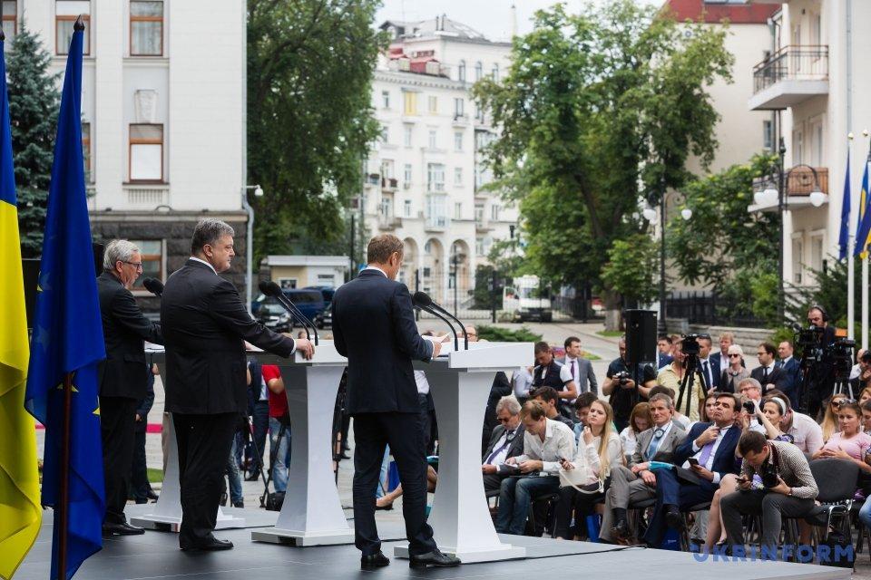 19-тий саміт Україна-ЄС у Києві (13 липня, 2017)