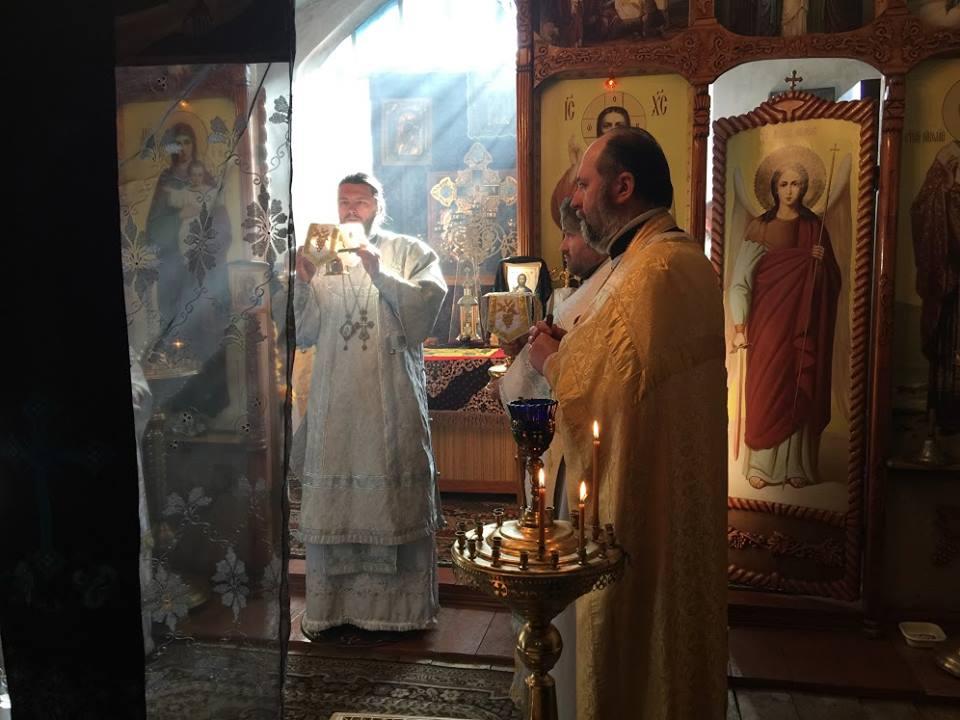 Отець Георгій (Юрій Лобачевський), настоятель Храму всіх Святих у Лубнах