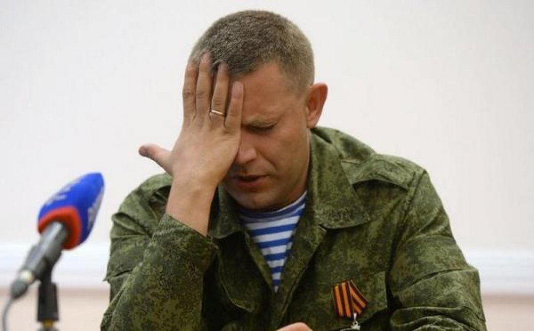 Голова самопроголошеної ДНР Олександр Захарченко