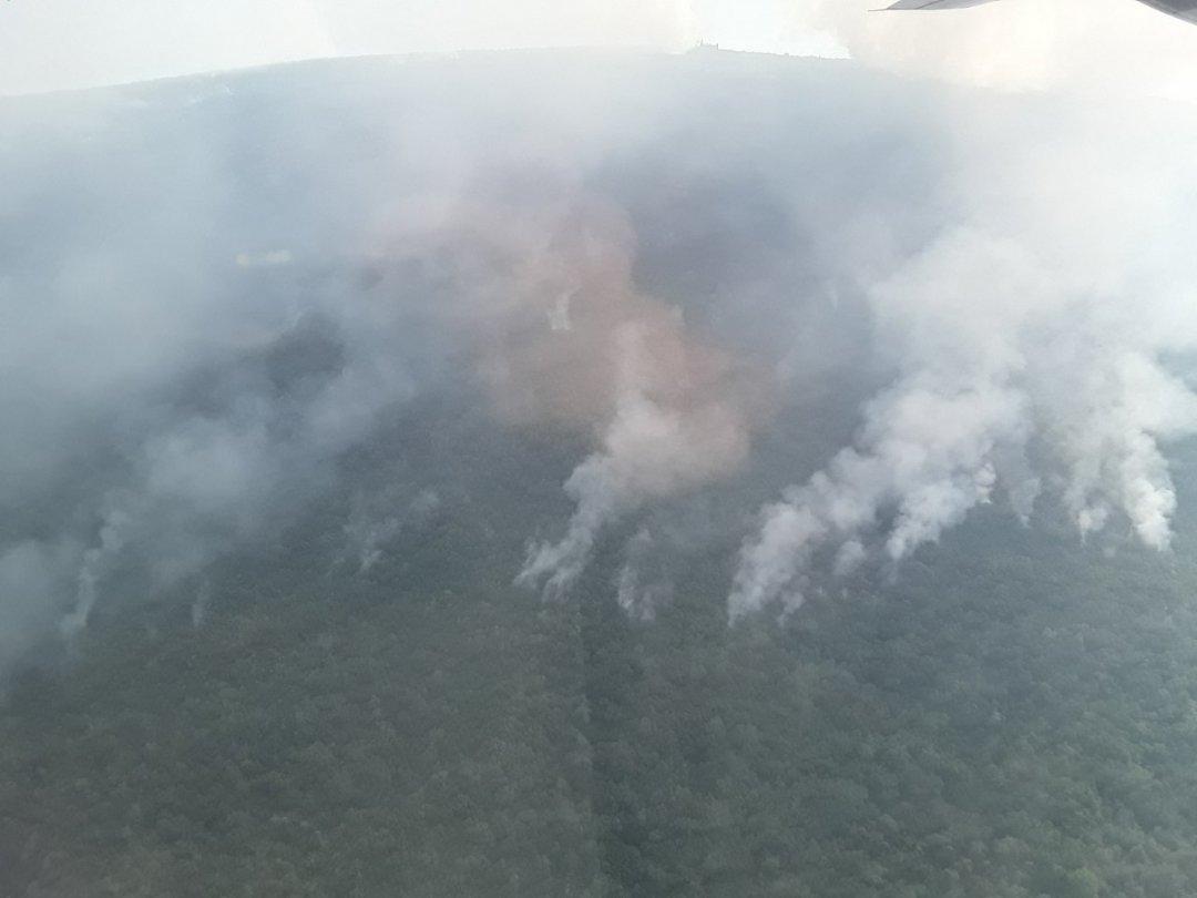 Украинская авиация вторые сутки тушит пожары вЧерногории