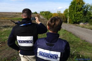 OSCE records about 30 tanks of invaders at training area near Donetsk