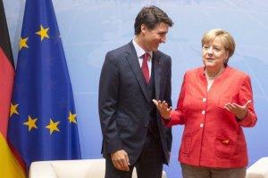 Трюдо та Меркель вимагають відповідальності для Росії за дії в Україні