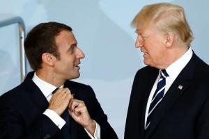 Макрон і Трамп зустрінуться перед самітом НАТО в Лондоні