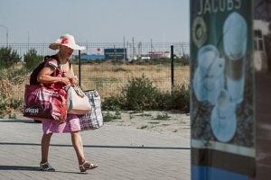 «Километровые» очереди в Крым - российский миф или украинская реальность? (укр.)