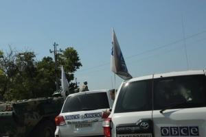 ОБСЄ зафіксувала обстріл бойовиками школи в окупованій Михайлівці