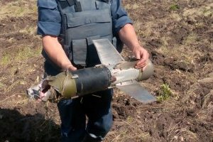 На Донеччині за вихідні піротехніки вилучили та знешкодили 160  вибухонебезпечних предметів