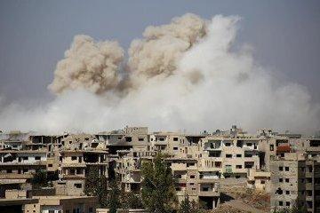 Військові літаки уряду Асада завдали ударів під Дамаском