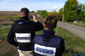OSCE SMM records more ceasefire violations in Donetsk region