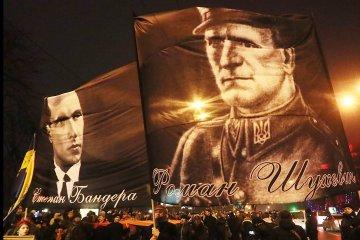 Le défilé en l'honneur de Stephan Bandera: les nationalistes se sont rassemblés sur la place Maidan