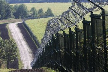 """Проект """"Стена"""" на границе с Россией готов на 40%"""