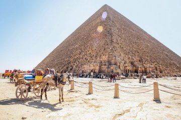 Number of Ukrainian tourists in Egypt doubled despite the state of emergency