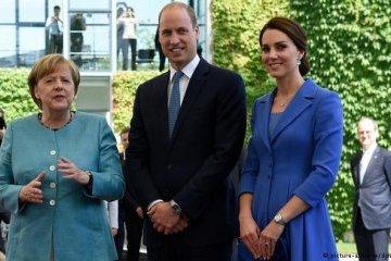 Меркель пообідала з принцом Вільямом і принцесою Кейт
