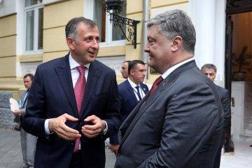 Poroschenko vereinbart beim Treffen mit Pataradze Tourismusentwicklung