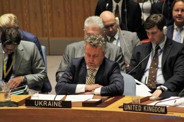Kyslyca powiedział w ONZ o łamaniu praw młodzieży na Krymie i w Donbasie