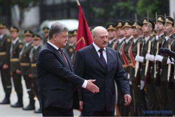 Ukrainischer Staatschef empfängt Lukaschenko