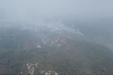 La Crimée en feu: un incendie dévaste la réserve naturelle de Yalta (vidéo)