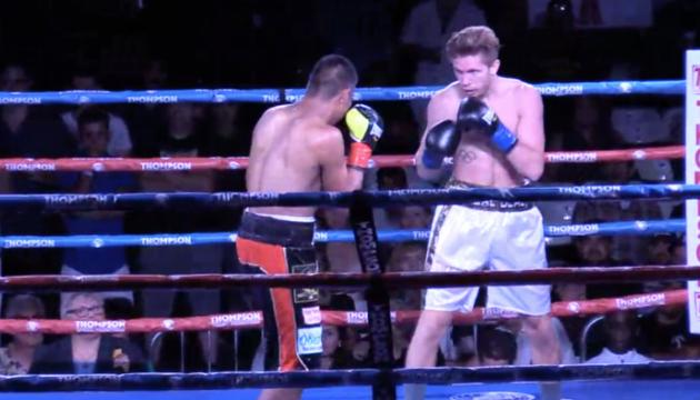 Український боксер Шелестюк здобув перемогу нокаутом