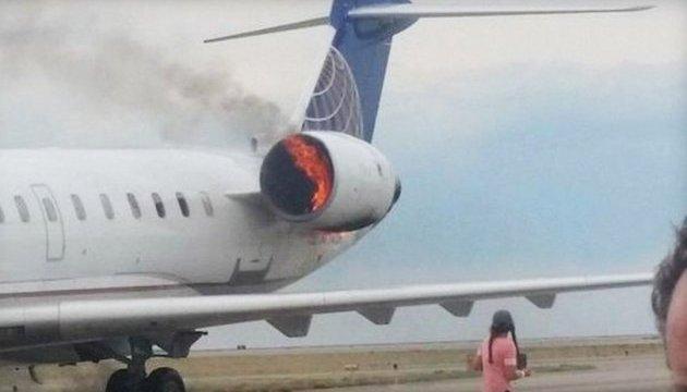 У Колорадо після приземлення спалахнув пасажирський літак