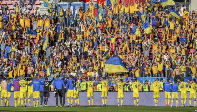 Рейтинг ФІФА: Україна піднялась на 12 позицій