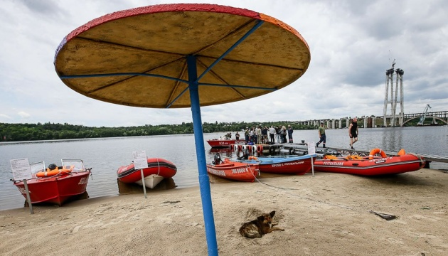 Київські пляжі можуть відкритися 1 червня