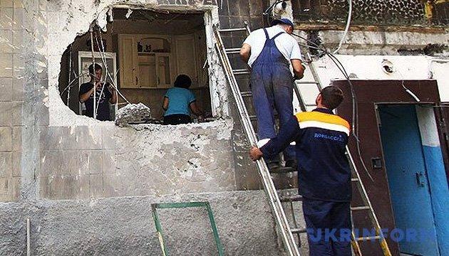 Міноборони оцінило збитки від руйнувань на Донбасі у $50 мільярдів