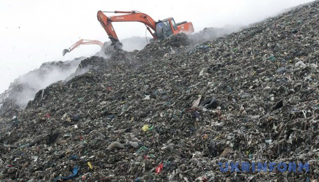 С 1 января в Украине запрещено захоранивать несортированный мусор