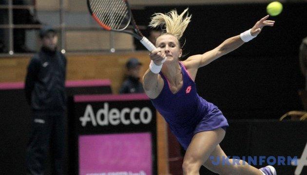 Цуренко невдало виступила на турнірі WTA у Нью-Гейвені