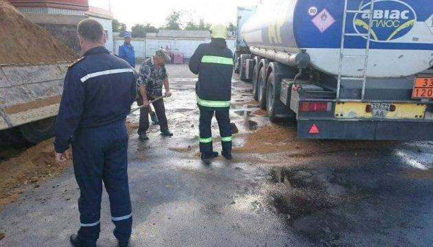 На Вінниччині стався масштабний розлив пального