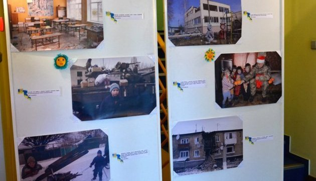 В Угорщині показали фотовиставку про наслідки російської агресії проти України
