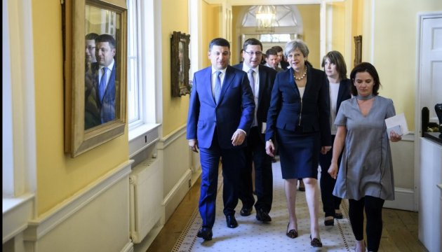 PM Groysman: Ukraine plans to start consultations on free trade area with the UK