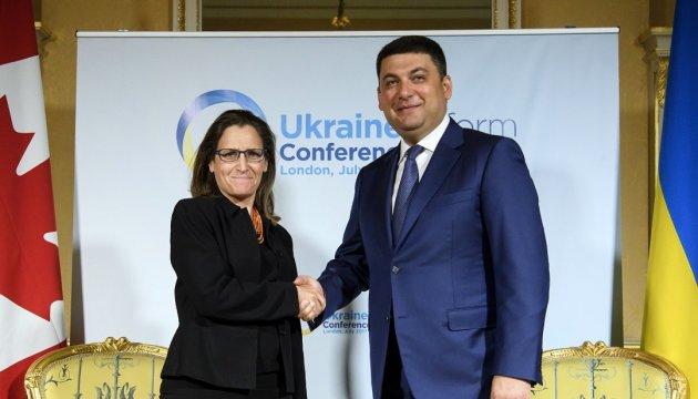 Христя Фриланд едет в Украину