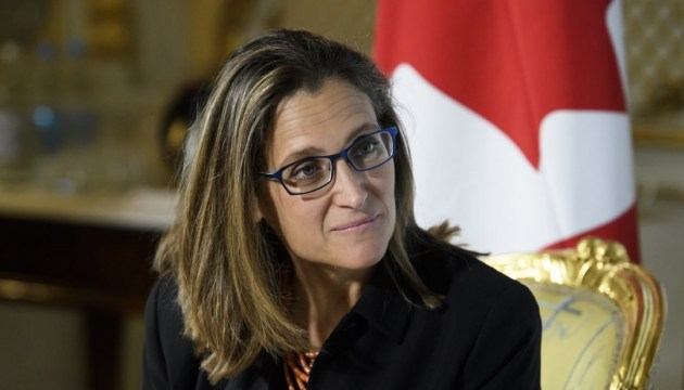Ukraine can count on Canada's support - Freeland