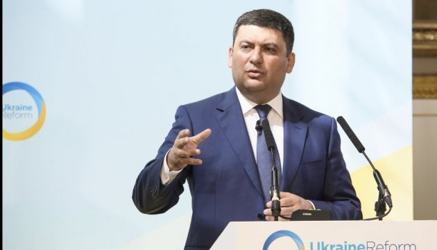 Groysman says Ukraine began to fight corruption