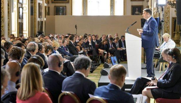 Investitionskonferenz in London
