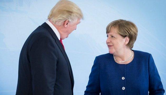 Меркель і Трамп обговорили гарячі точки та міжнародну торгівлю