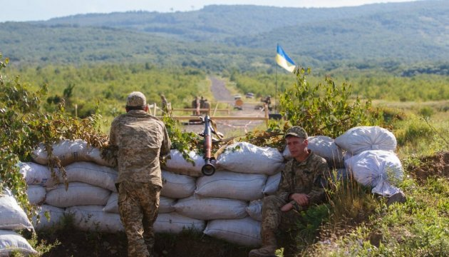 Three Ukrainian soldiers wounded in ATO zone in last day