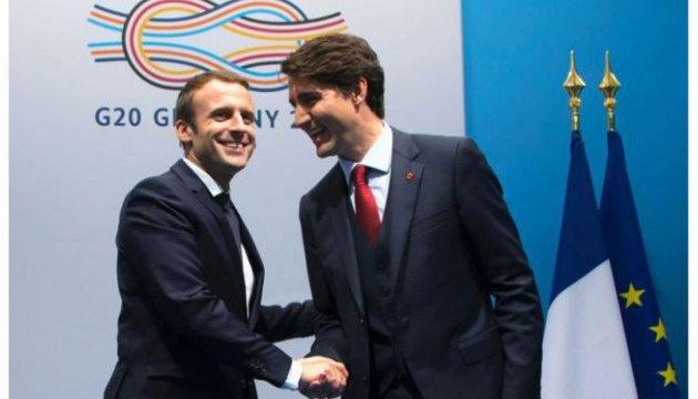 Канада та Франція спільно популяризуватимуть французьку мову