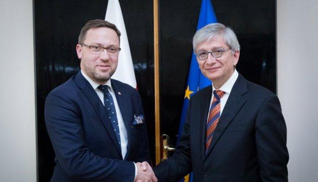 Polnisches Außenministerium: Versuche, Kiew und Warschau zu entzweien, sind Teil eines Hybrid-Krieges