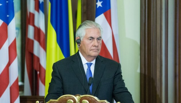 Tillerson: Russia should make first step towards de-escalation in Donbas