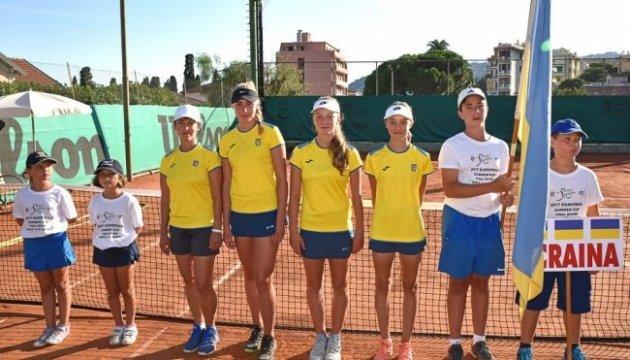 Юні українські тенісистки знову виграли Кубок Європи