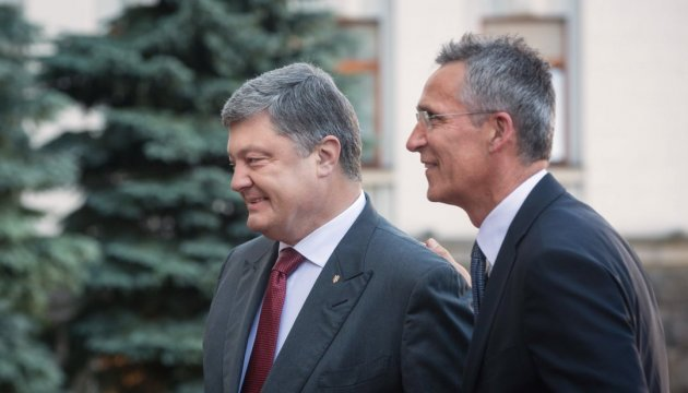 Poroshenko proposes NATO create new trust fund for Ukraine
