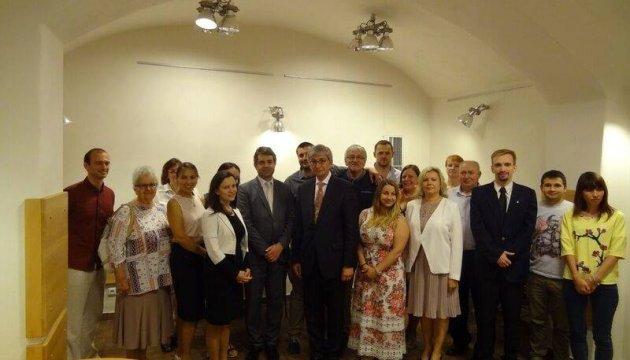 Президент СКУ зустрівся з українською діаспорою в Чехії