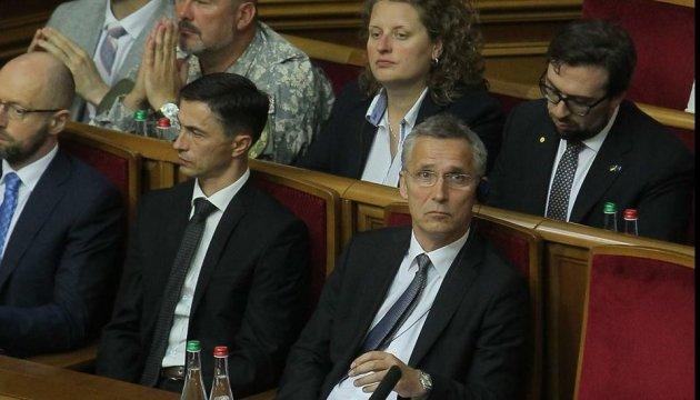 Украине нужны герои в правительстве, парламенте и бизнесе - Столтенберг