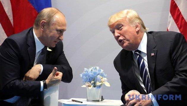 Трамп вірить Путіну, що Росія не втручалась у вибори в США