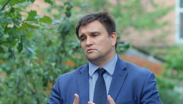 Клімкін - гастарбайтеру Саакашвілі: На відміну від декого паспорти не колекціоную