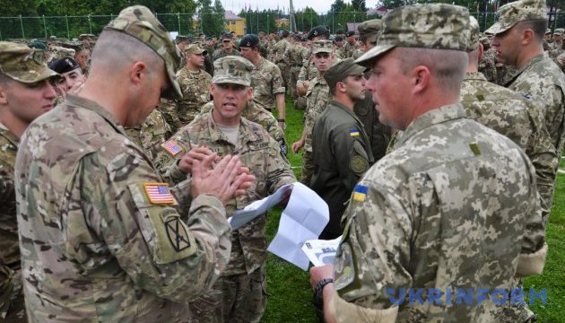 В Украине стартуют масштабные военные учения Rapid Trident-2018